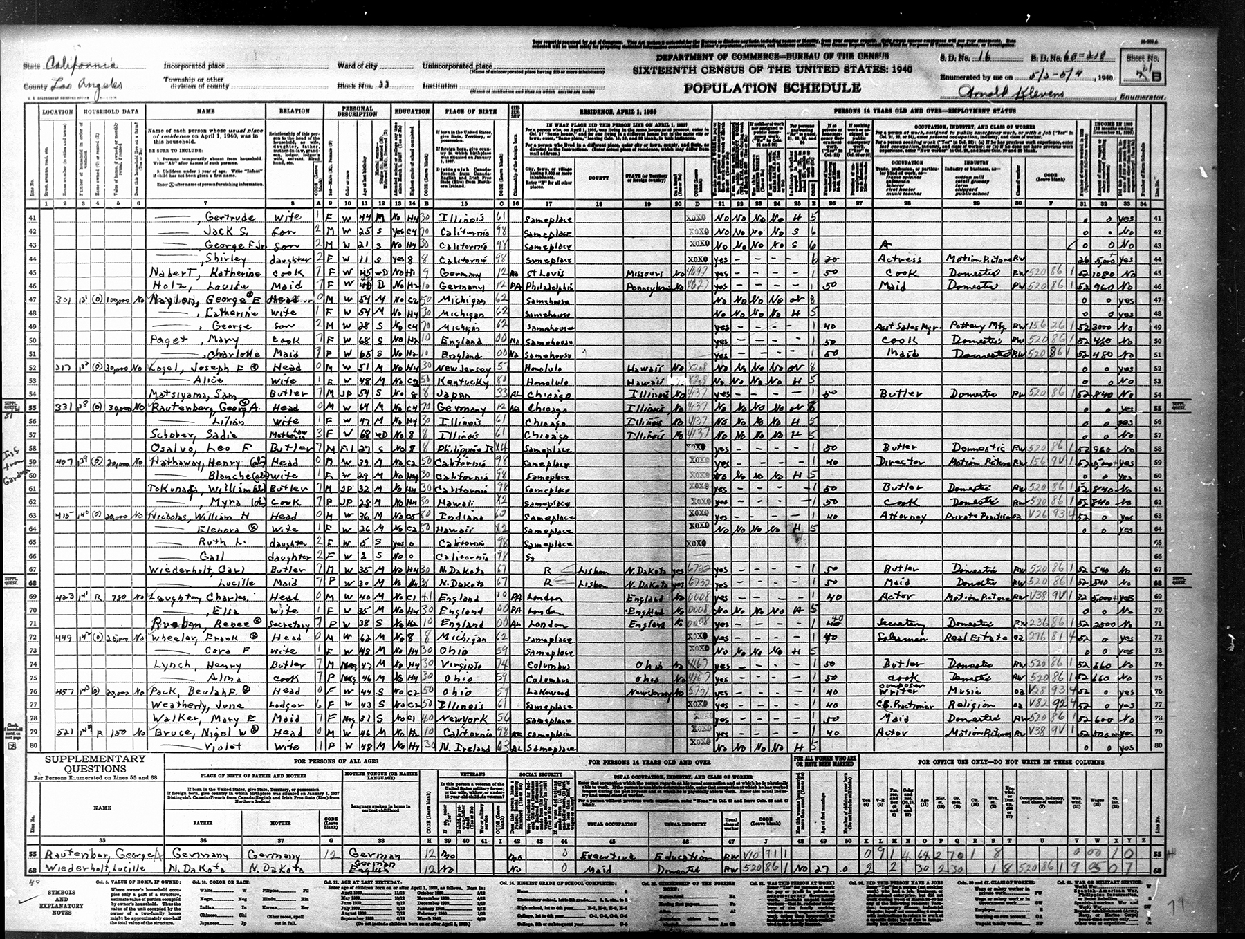 Shirley temple in the 1930 census living with her family at the age of