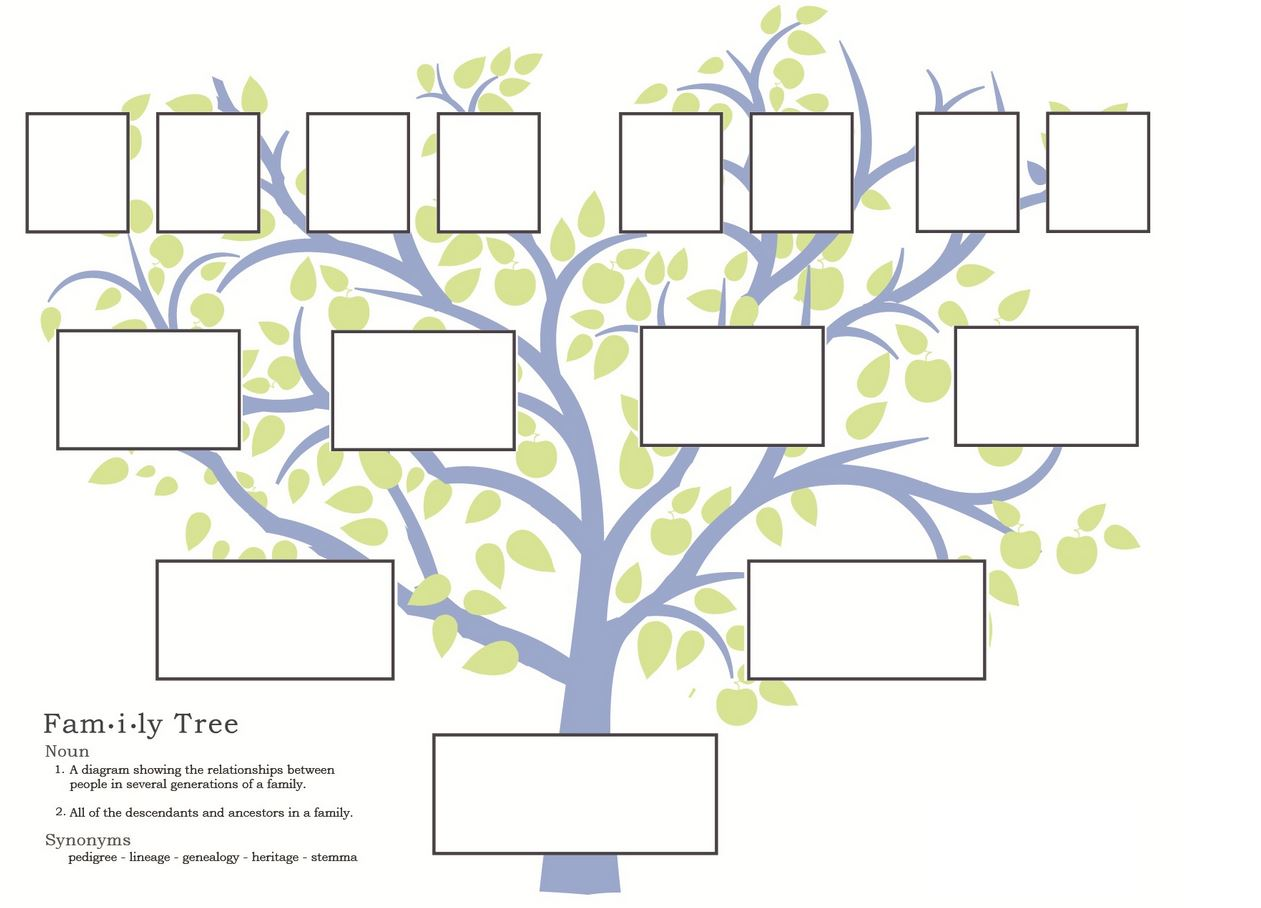 Family trees on pinterest family tree paintings for Ancestry book templates