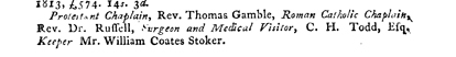 William Coates Stoker's death notice