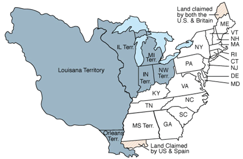 17 states participated the 1810 census, as well as the territories of Illinois, Indiana, Michigan, Mississippi, Louisiana and Orleans.