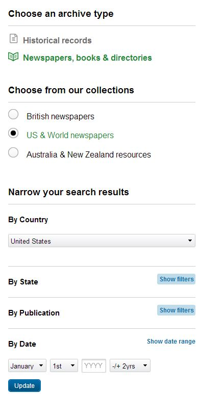 How to Search Newspaper Archives on findmypast | findmypast com