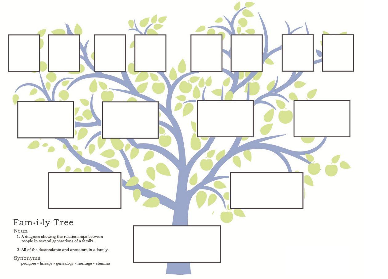 Más de 1000 ideas sobre Plantillas De Árbol Genealógico en